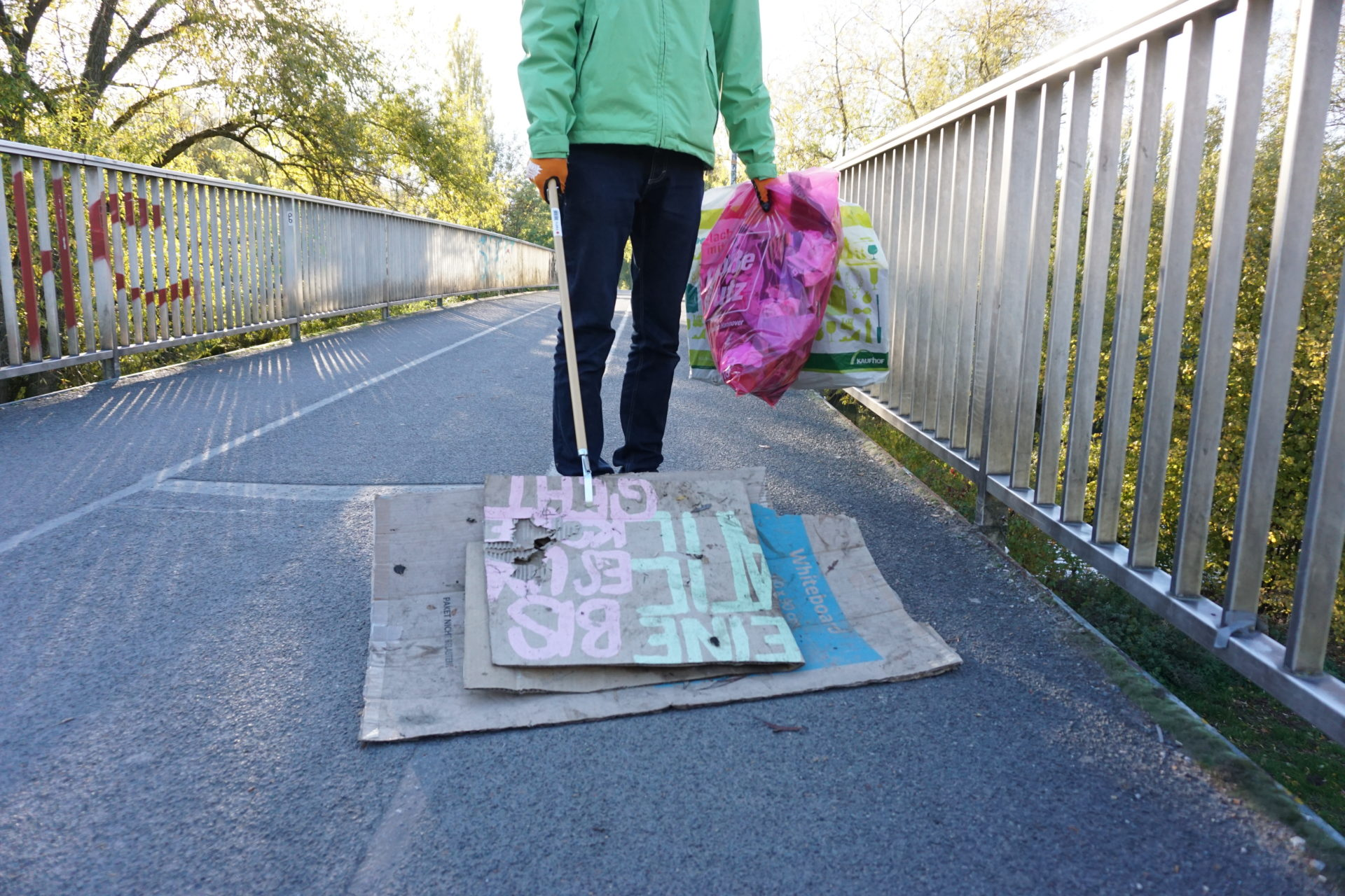 Müllsammelaktion Greenepeace