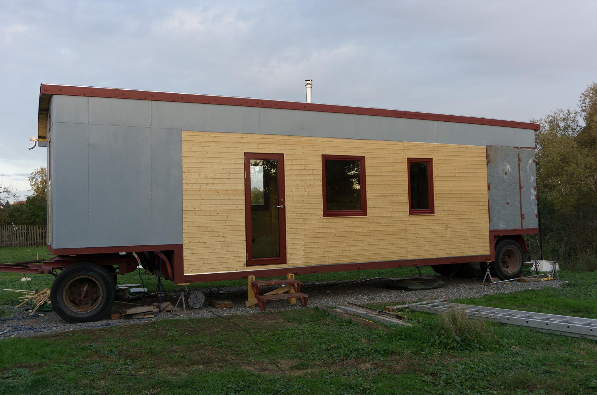 Tiny House Baustelle