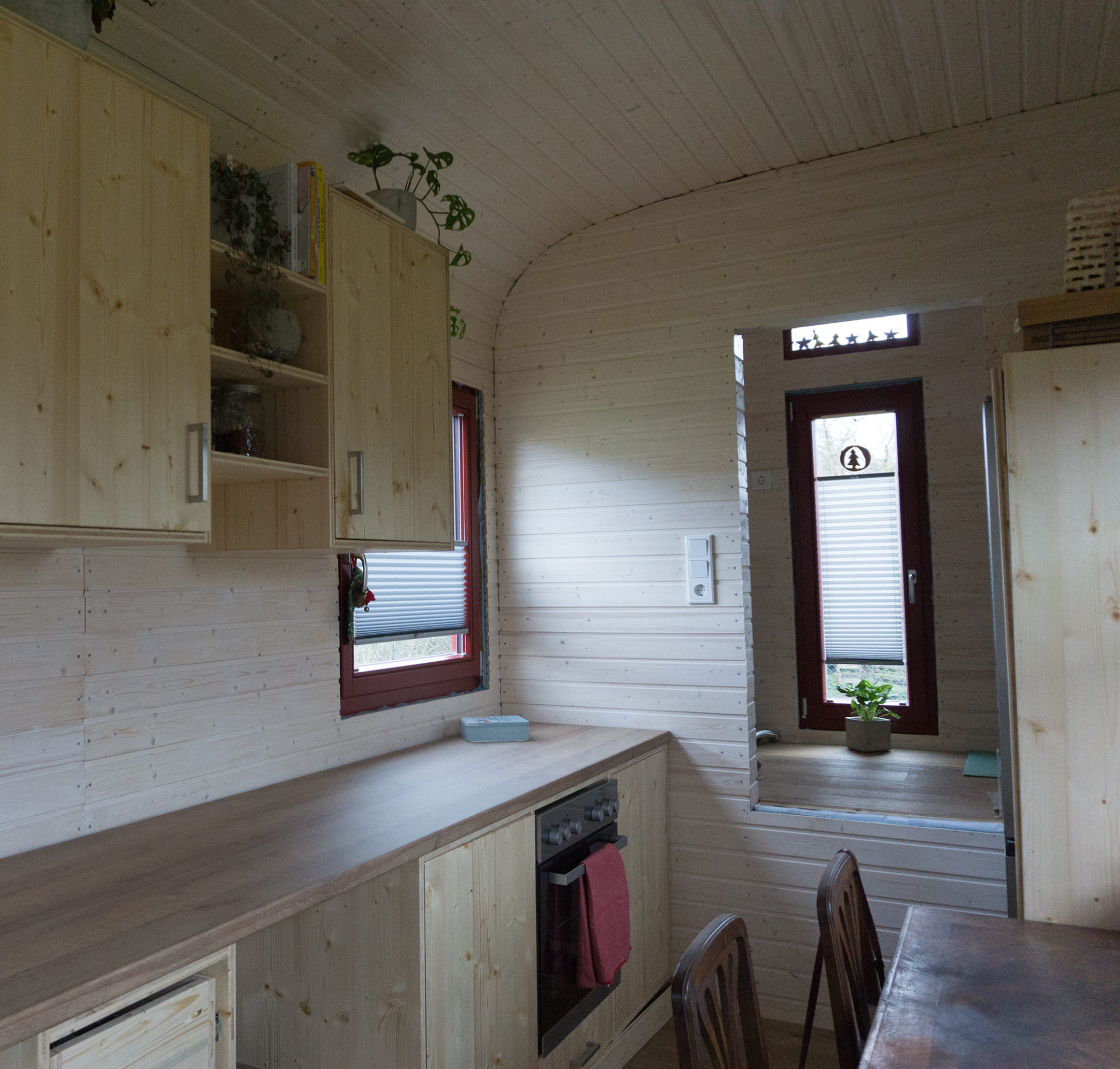 Tiny House Innenausbau