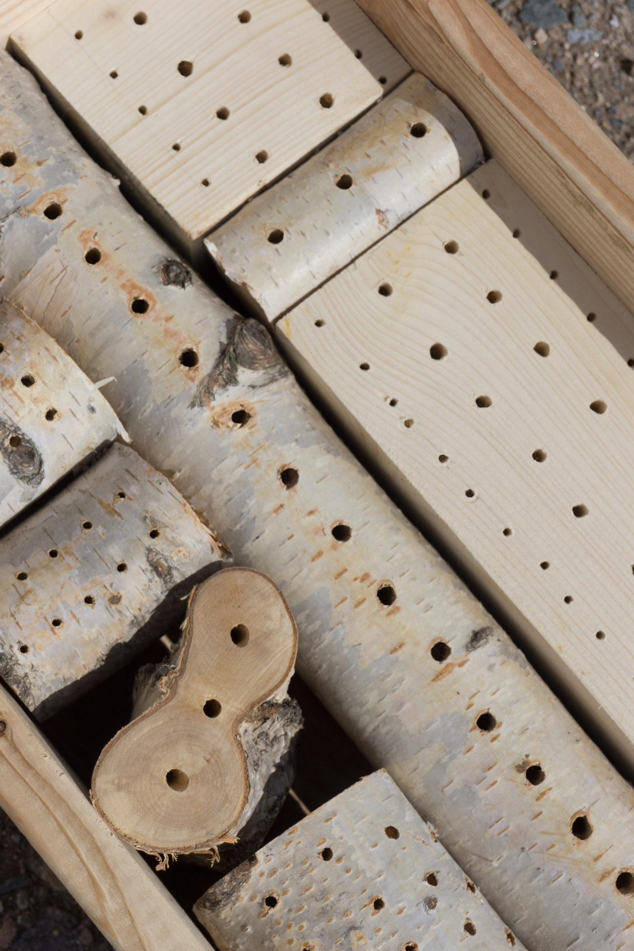 Wildbienenhotel bauen