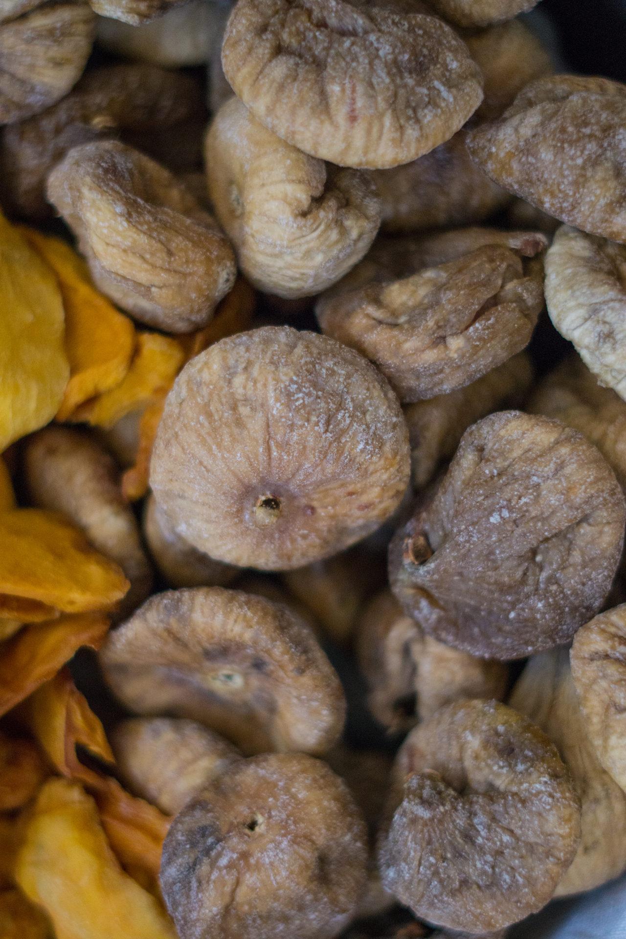 Trockenfrüchte Feigen